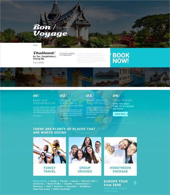 tour operator broker wordpress template