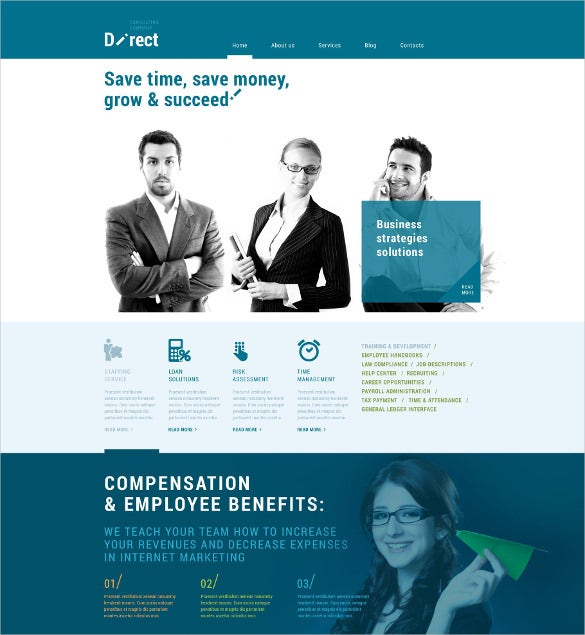 perfect business broker wordpress theme