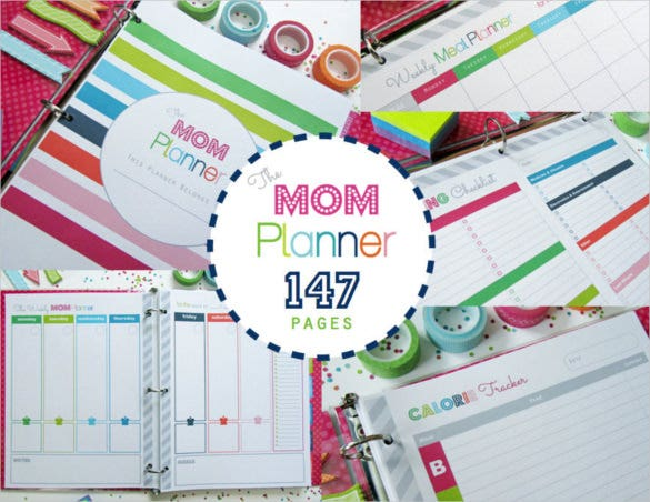 home management binder cover printable download