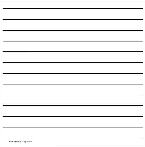 10+ Writing Paper Templates – Free Sample, Example, Format
