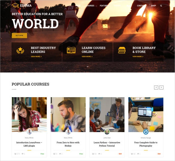 17 academic blog themes templates free premium templates attractive academic wordpress blog template 59 pronofoot35fo Image collections