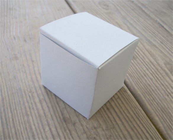 large printable cube box template