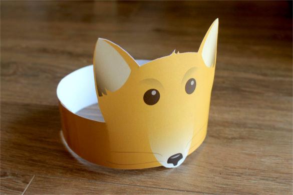 little foxs paper crown