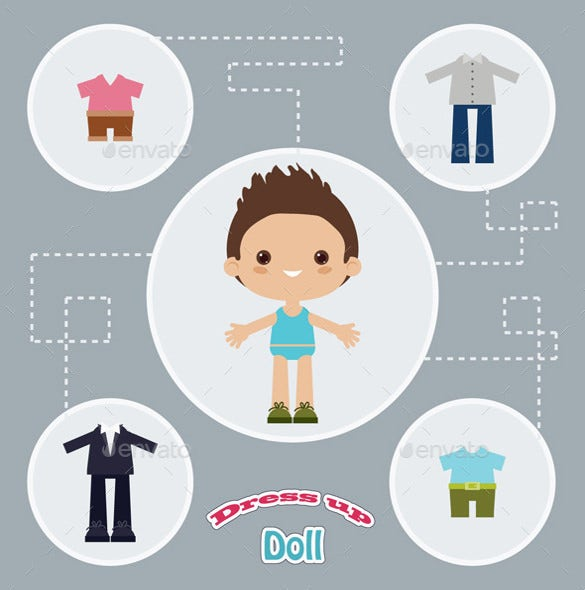 dress up paper doll1