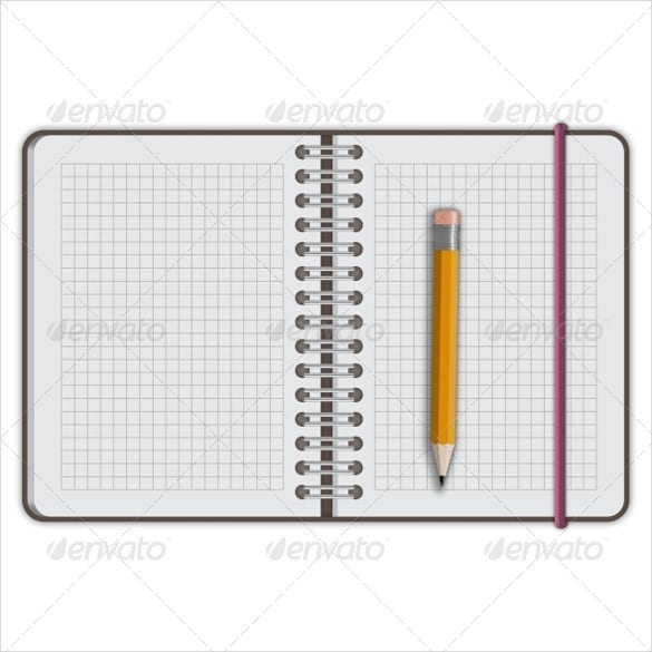 graph paper template – 5