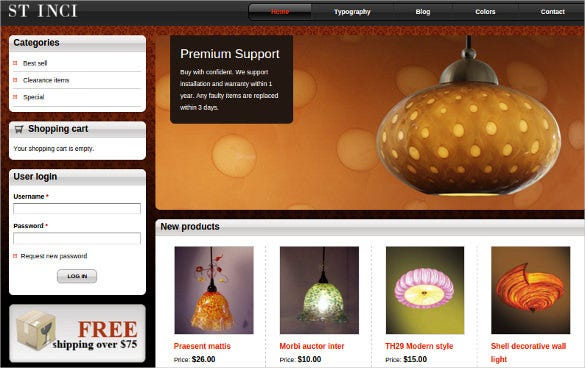 simple drupal ecommerce theme