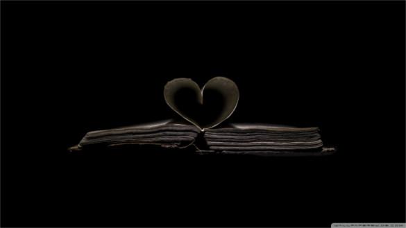 download dark heart wallpaper free