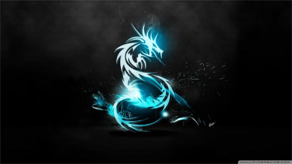 download dark dragon symbol wallpaper download