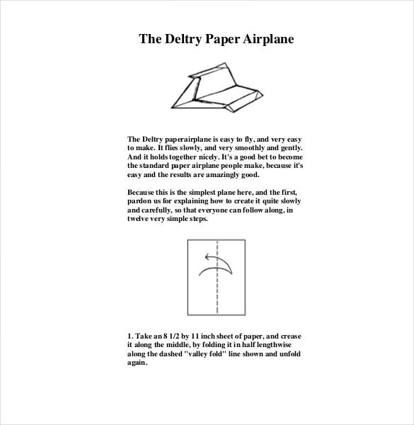 longest flying paper airplane design1
