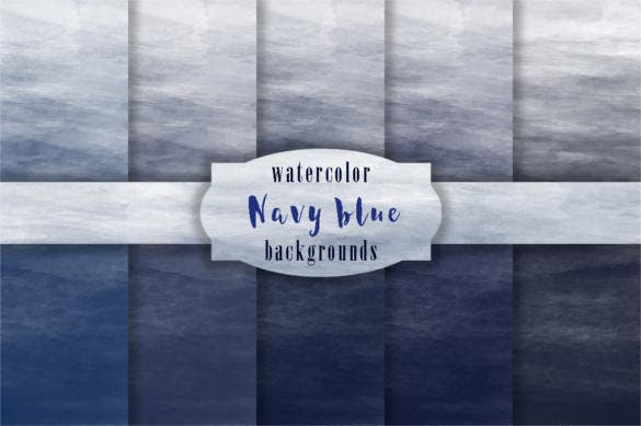 5 navy blue watercolor backgrounds download