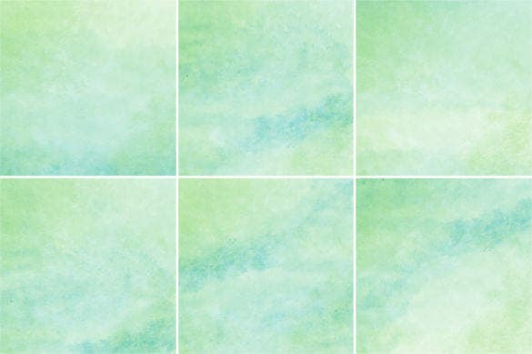 12 green blue watercolor backgrounds