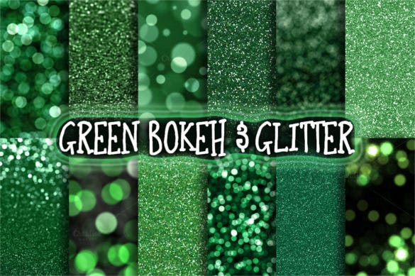 16 green glitter bokeh backgrounds premium download