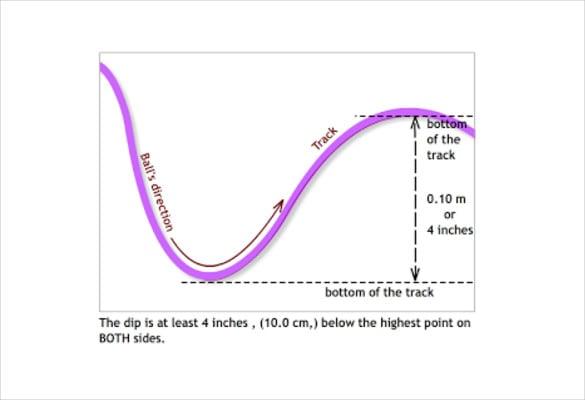 7  paper roller coaster templates  u2013 free  sample  example