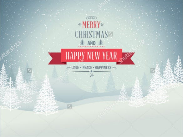 merry christmas landscape winter background download