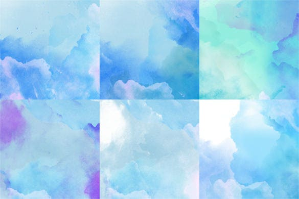 12 cool wintery watercolor digital backgrounds download