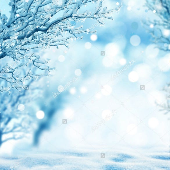 winter background with tree snow design download