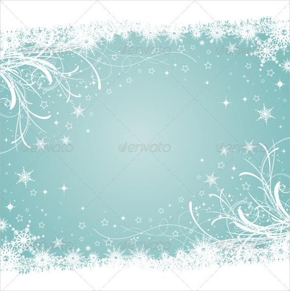 decorative winter background ai illustrator format