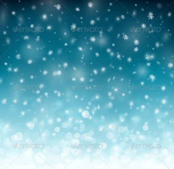 winter background with snowflakes vector eps