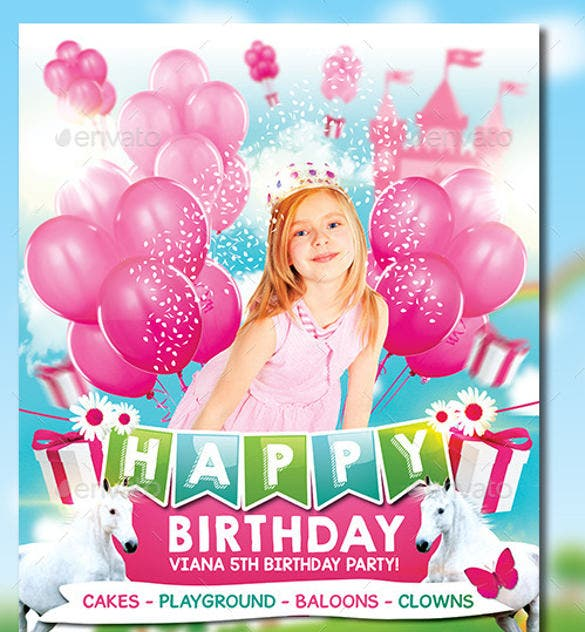 princess birthday party celebrations invitation