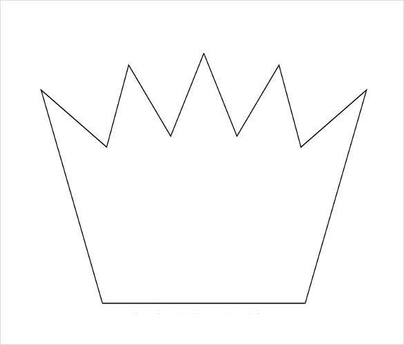 cardboard crown template 14 paper crown templates free sample example format