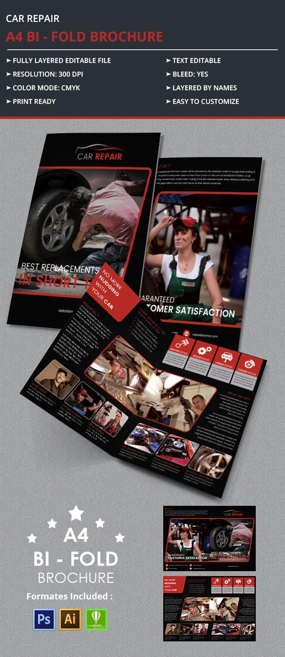 CarRepair_A4bifold_Brochure