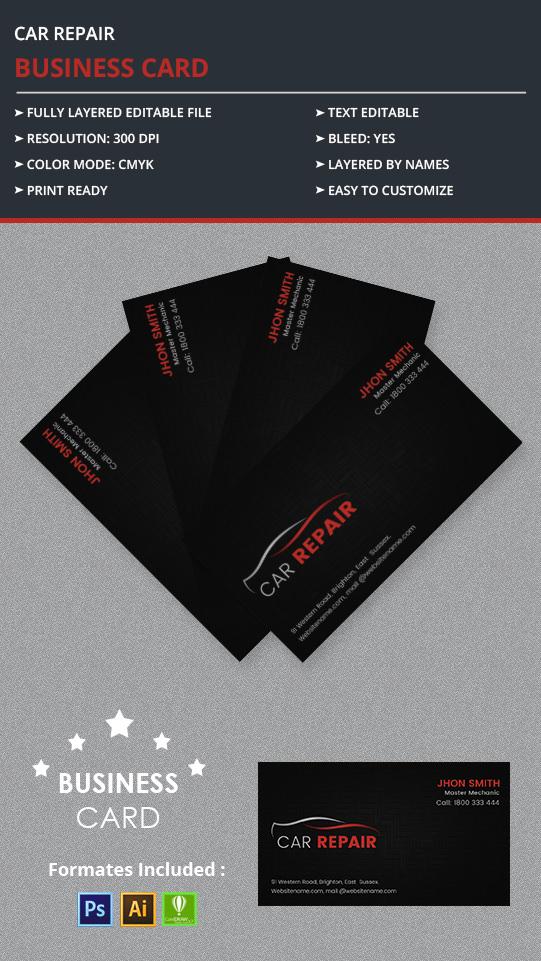 CarRepair_BusinessCard