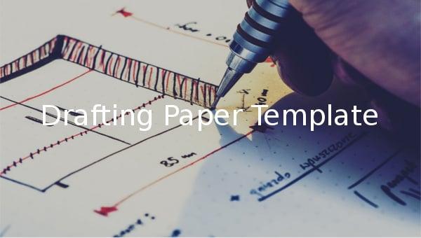 drafting paper template