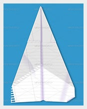 Backlit-Paper-Airplane-PSD-Photoshop-–-$4