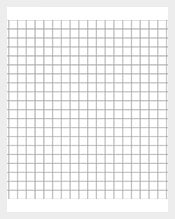 Five-millimeters-grid-pattern