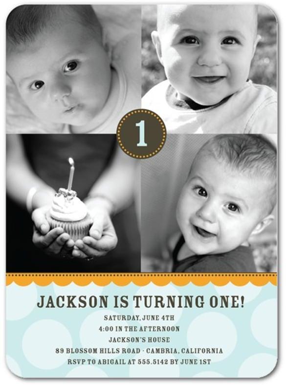 dark birthday party invitation for kids