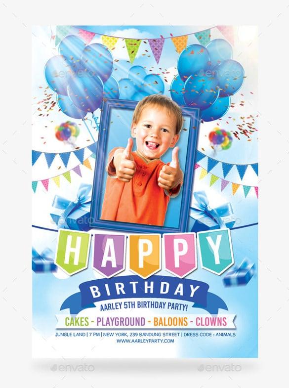 31 kids birthday invitation templates psd vector eps ai format boy birthday party celebration invitation filmwisefo