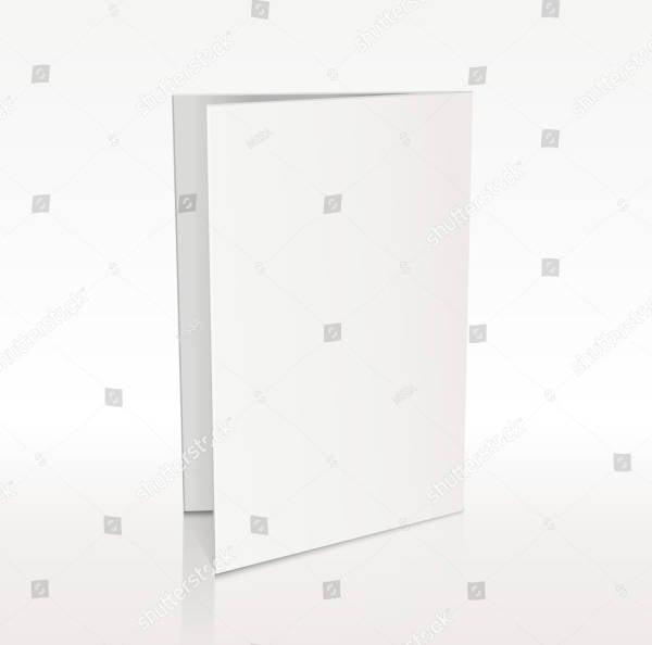 3d blank flyer template