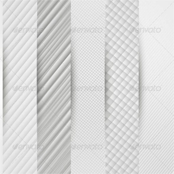 abstract triangle template banner