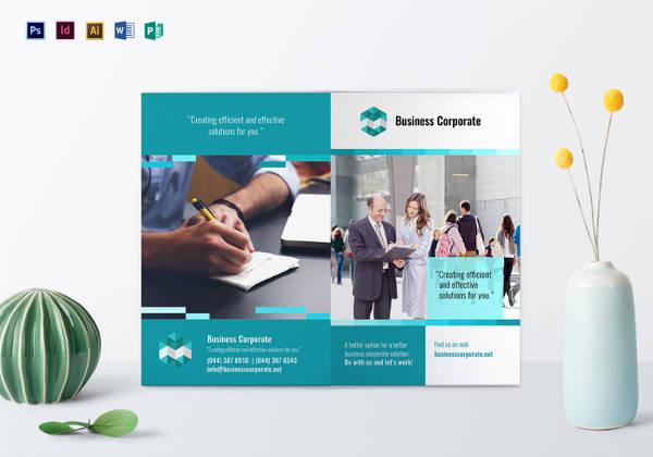 bi-fold-business-corporate-brochure