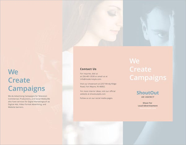 Free Brochure Templates Free PSD AI Vector EPS Format - Brochure word template