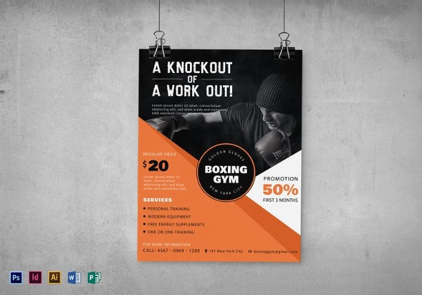 boxing-gym-flyer-template