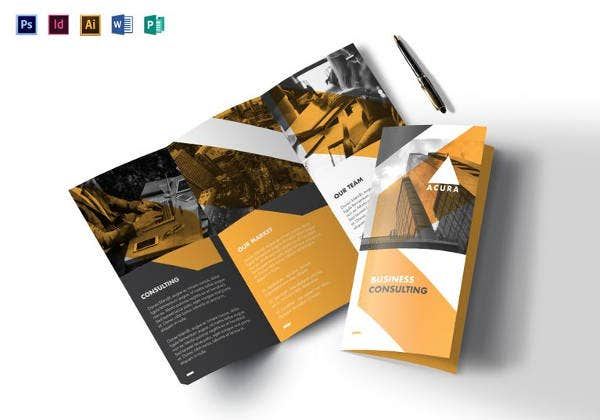 Tri fold brochure templates 56 free psd ai vector eps format business tri fold brochure template wajeb Images