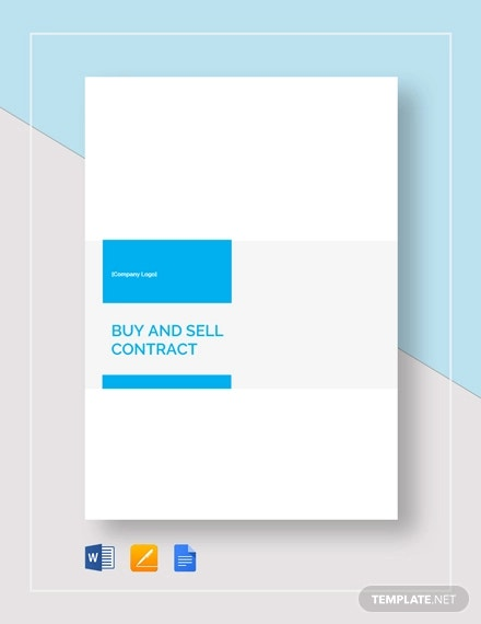 buy and sell contract template