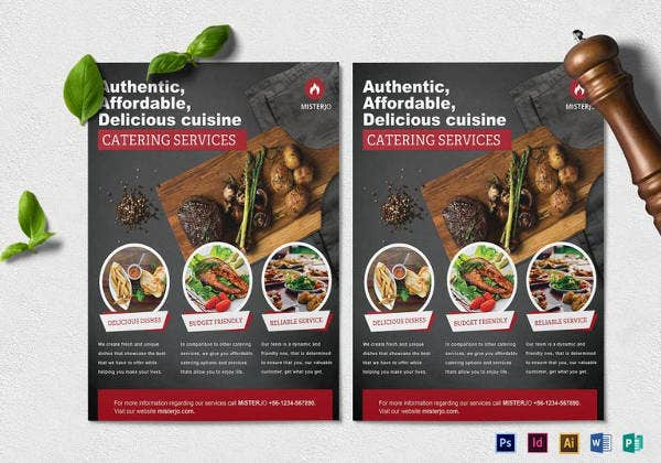 catering-service-flyer-template