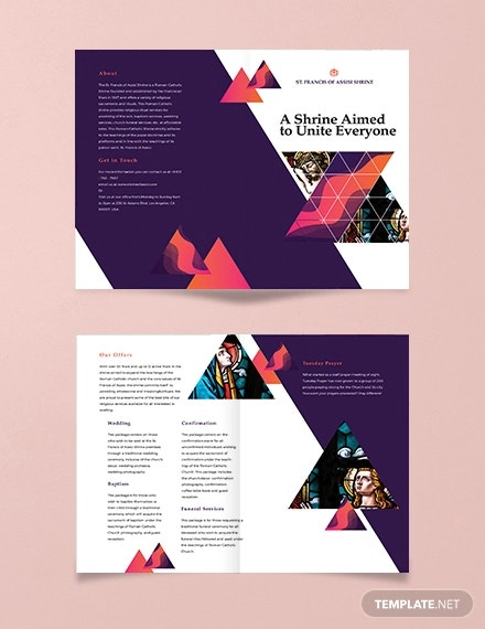 16 Popular Church Brochure Templates Ai Psd Docs Pages Free