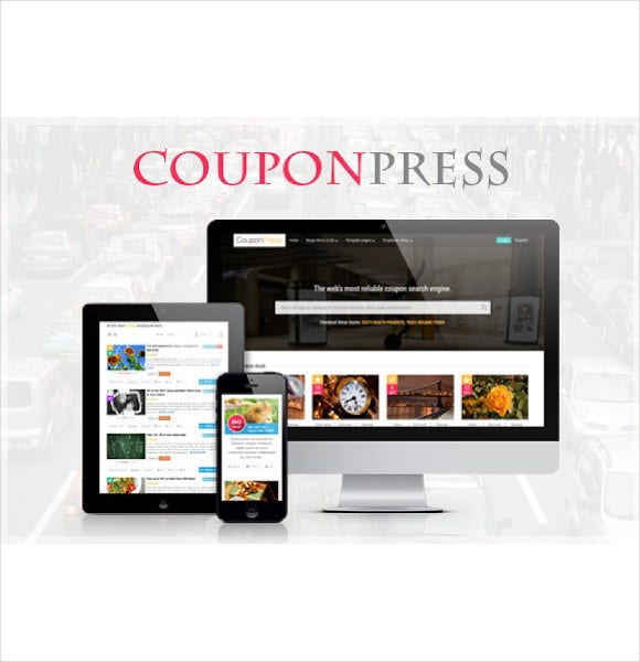 couponpress html
