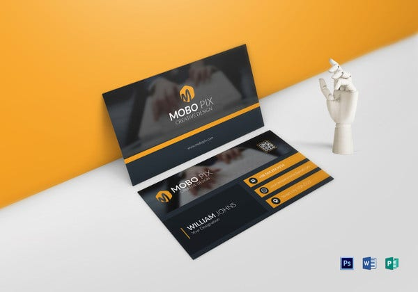 50 cool business card templates word pages ai psd free
