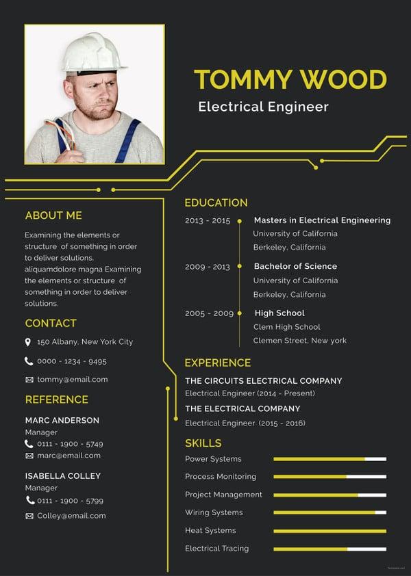 electrical-engineer-resume-template