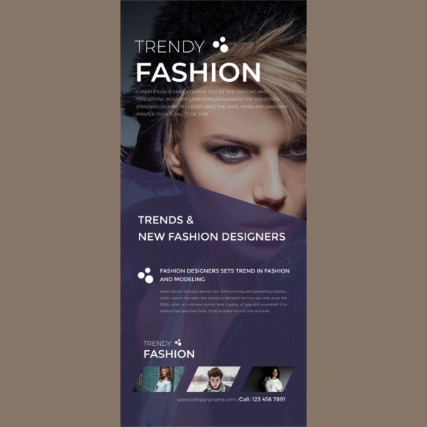 fashion rollup banner template1
