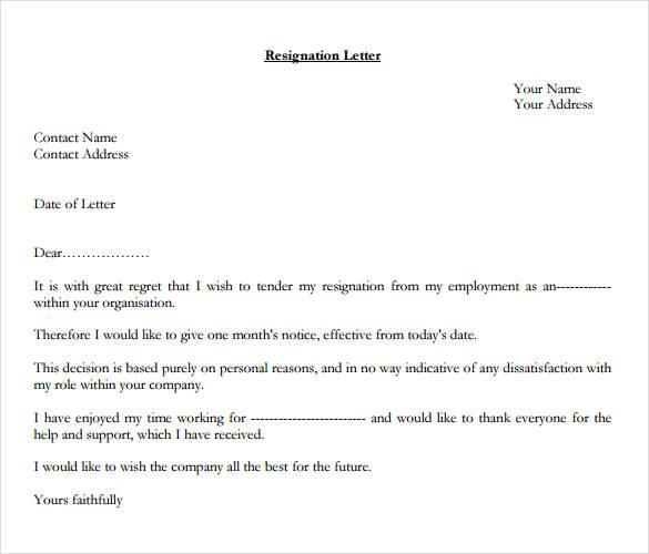 formal-resignation-letter-1-month-notice