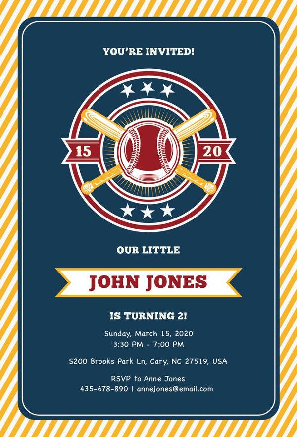 free-baseball-invitation-template