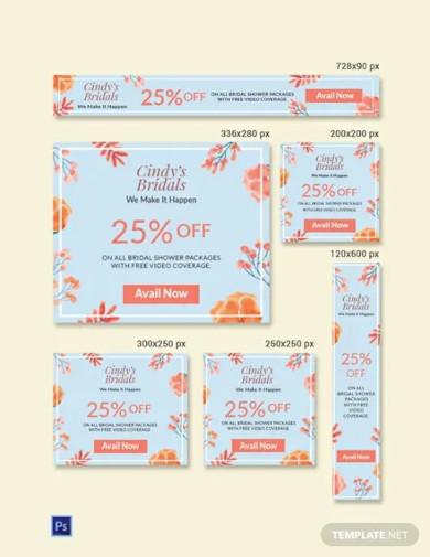 free bridal shower banner sample