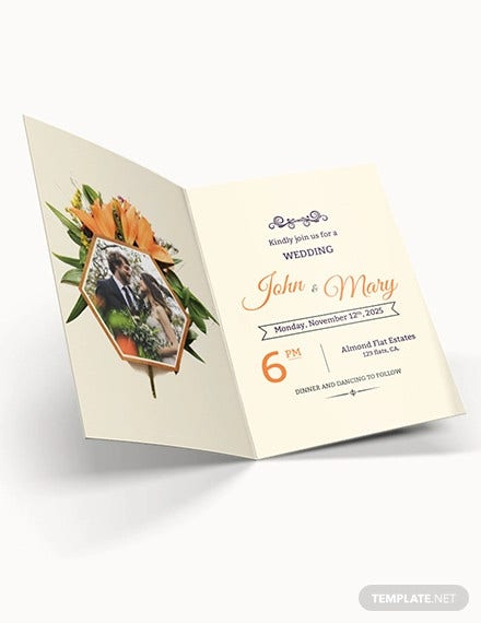 free elegant overlay wedding invitation template2