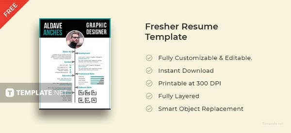 free-fresher-resume-template