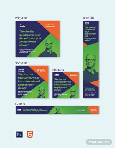 hr consultancy banner templates